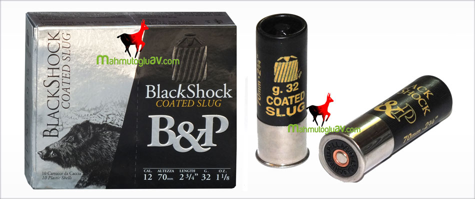 B&P pellagri black shock 1050 bar 12 cal. 32 gr magnum tek kurşun