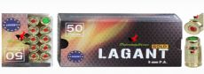 Lagant gold 50 adet 500 bar 9 mm kurusıkı mermi